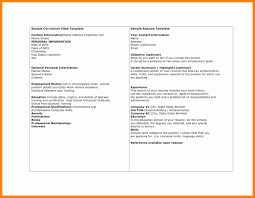 Chronological Order Resume Example by Resume And Cv Templates Resume Template Is A Simple And Quick Way
