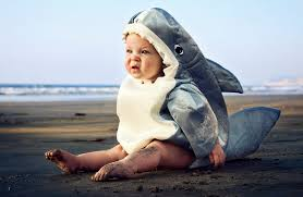 boo halloween costumes for the littlest ocean lovers