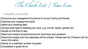 complete wedding checklist stunning detailed wedding checklist 15 photos diy wedding 16127