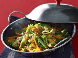 cuisine wok facile wok de légumes croquants aux cacahuètes recipe woks