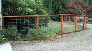 Backyard Fencing Cost - hog wire fencing cost fence gallery
