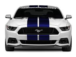 white mustang blue stripes graphics mustang blue gt500 style stripes 10 in