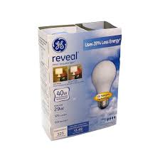 ge reveal halogen 40 watt incandescent replacement light bulbs 4