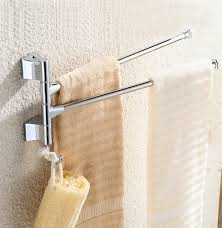 btsky wall mounted stainless steel bathroom kitchen towel rack