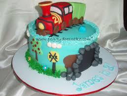 peggy does cake james turned 2 with a choo choo cake click