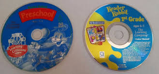 reader rabbit lot of 2 preschool learning creations 1st grade