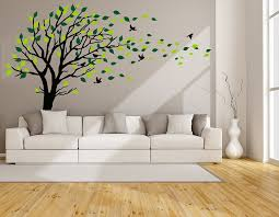 luckkyy large tree wall stickers mural tree wall decal tree