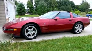 93 corvette zr1 1993 chevrolet corvette 40th anniversary edition