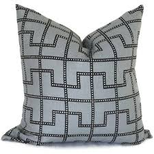 celerie kemble bleecker twilight gray decorative pillow cover