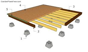 deck plans building a deck plans free nikura