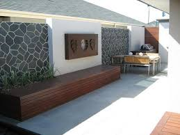 very attractive outdoor feature wall ideas wondrous water