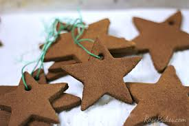 gingerbread ornaments easy baked cinnamon ornaments bakes
