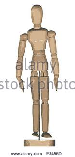 wooden artist model wooden artist model figure jointed pushing push side