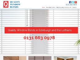 Quality Window Blinds New Blinds In Edinburgh U0026 Lothians By Quality Window Blinds