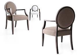 sedie sala da pranzo moderne sedie moderne della sala da pranzo ricoperte tessuto beige spugna