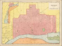 Metro Detroit Map by Map Detroit And Vicinity 1910 Detroitography