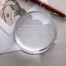 personalized paper weight gifts personalized paperweight inspirational quotes
