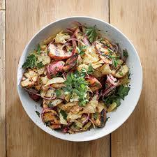 grilled baby potato salad recipe justin chapple food wine