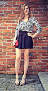fashion it list high waisted shorts with my sister