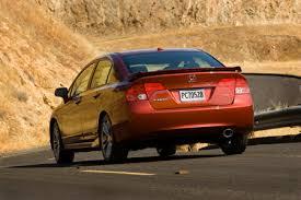 2007 Civic Si Interior Honda Civic Si Sedan Review The Truth About Cars