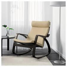 Rocking Chair For 1 Year Old Poäng Rocking Chair Glose Dark Brown Ikea