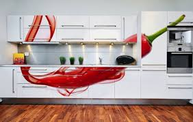 kitchen mural ideas evolved wall murals ideas in white sleek kitchen cabinetry wall