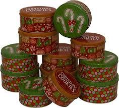 bulk cookie tins christmas cookie tins nested 4 sets of 3 nesting tins 12