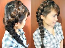 long hair styles with braids