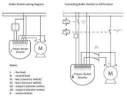 motors wiring diagram roller shutter motor remote shades