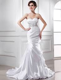 silk fit and flare wedding dress silk wedding gown for sexiest looks weddceremony com