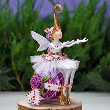 patience brewster sugar plum ornament