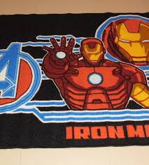 Superhero Rug Quality Bargain Priced Marvel Avengers Kids Play Rug Ironman