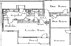 1930s Bungalow Floor Plans Examples Of Houses For Sale In The 1940 U0027s With Prices