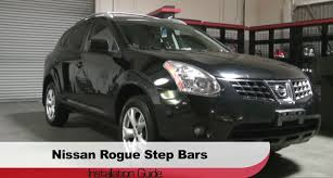 Nissan Rogue 2008 - spyder auto installation 2008 12 nissan rogue step bars youtube