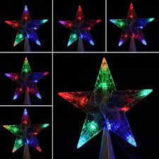 led indoor outdoor tree topper lights l