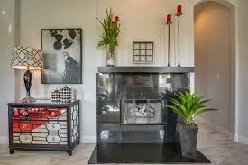 Gehan Homes Floor Plans by Gehan Homes Laurel Fireplace Black Tile Fireplace With A Dark Wood