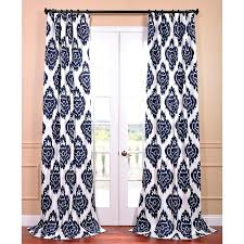 White Curtains With Blue Trim Decorating Navy And White Drapes Attractive White Curtains Black Trim And
