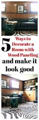 five ways to decorate a room with wood paneling