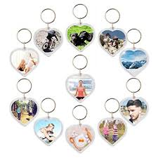 acrylic dolphin ring holder images 50 pc photo picture insert keychains acrylic plastic jpg