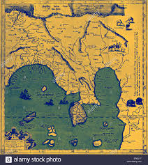 Asia Rivers Map by Map Of Asia East Of The Ganges In Ptolemy U0027s U0027geographia