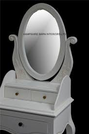small dressing table with mirror and stool chateau french style antique white small dressing table includes