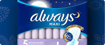 maxi size always maxi size 2 pads with wings unscented target