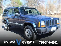 jeep cherokee sport 2001 jeep cherokee sport victory motors of colorado