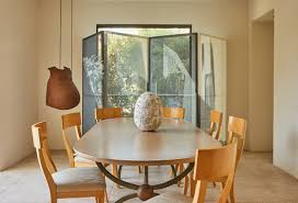 Where To Buy Dining Room Table Inside Merry Norris U0027s Art Filled Sanctuary In The Hollywood Hills