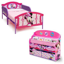 Toddler Minnie Mouse Bed Set Delta Children Minnie Mouse 2 Piece Twin Bedroom Set Sam U0027s Club