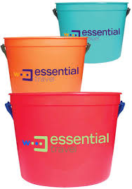 personalized buckets personalized sand buckets and plastic pails discountmugs