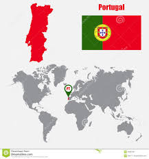 Portugal On The World Map by World Map Portugal Portugal World Map Outline World Map