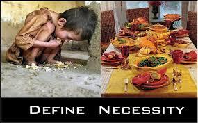 define necessity thanksgiving edition ha tea n danger