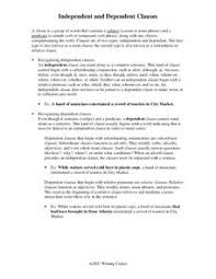 main and subordinate clauses lesson plans u0026 worksheets