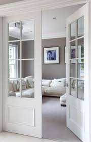 Interior Bedroom Doors With Glass Make A Pocket Door Like This And Put Photographs Glass Panes